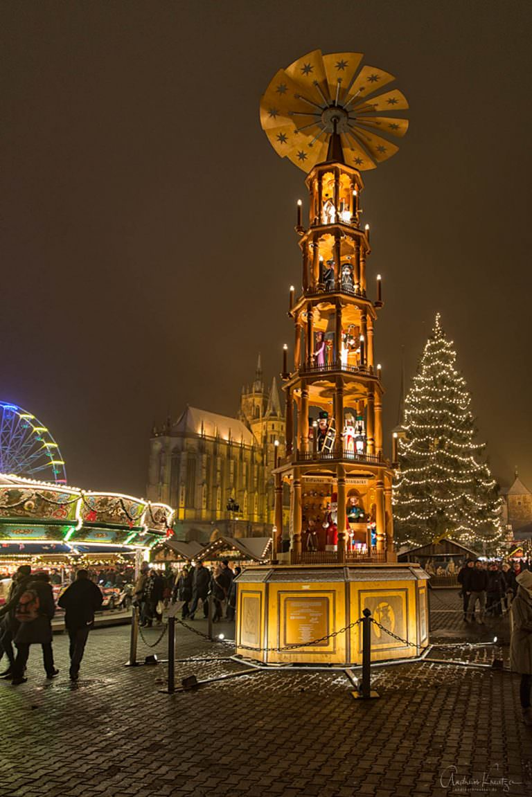 Weihnachtsmarkt - Erfurt
