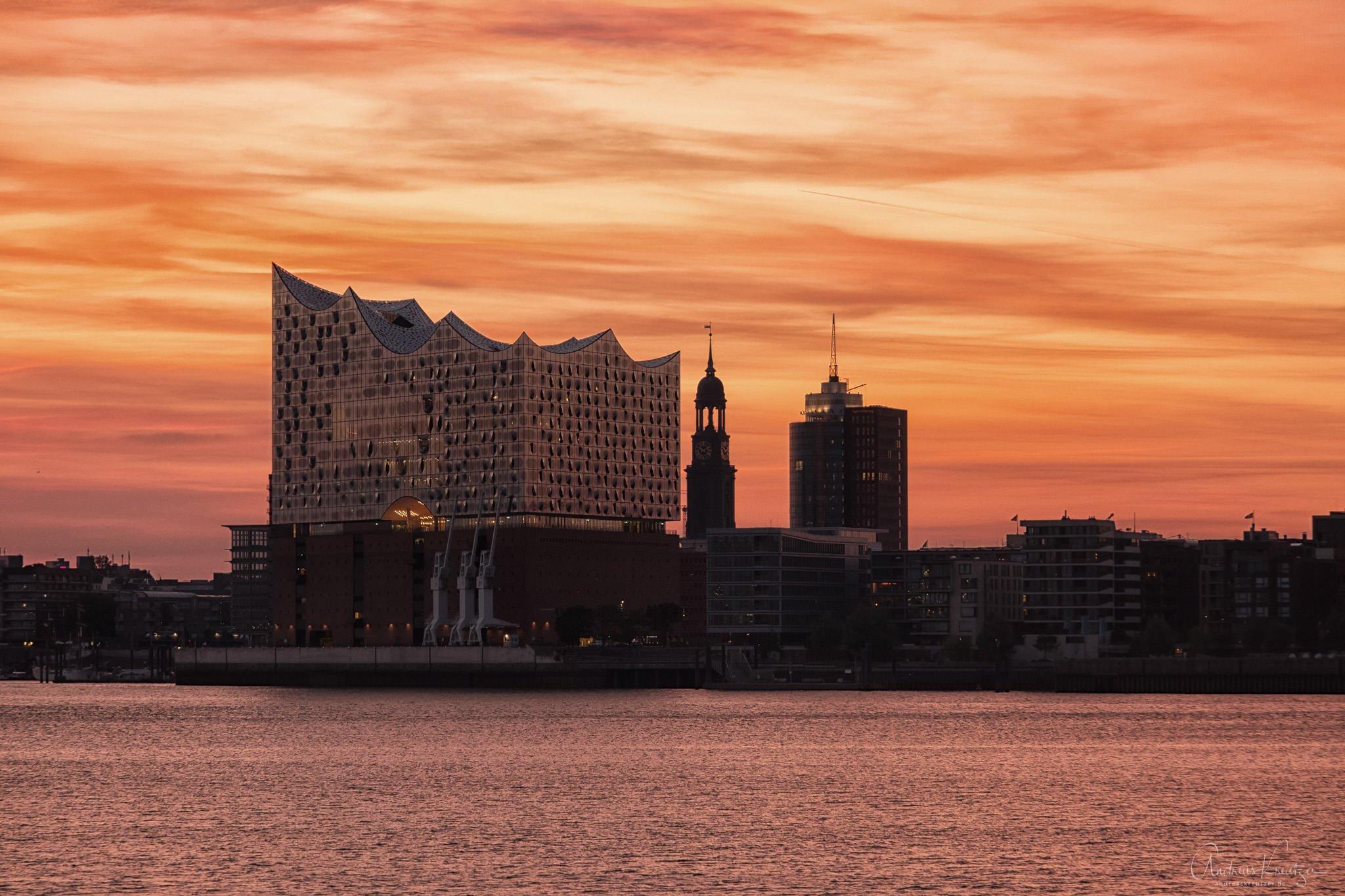 Blick vom Hansa Hoeft auf die HafenCity