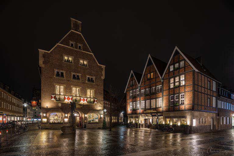 Kiepenkerlplatz in Münster