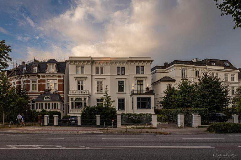Häuser an der Heilwigstraße