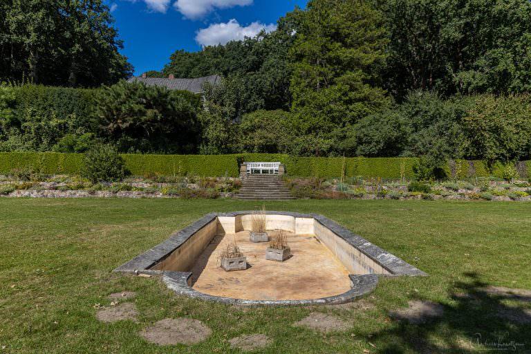 Römischer Garten in Hamburg Blankenese