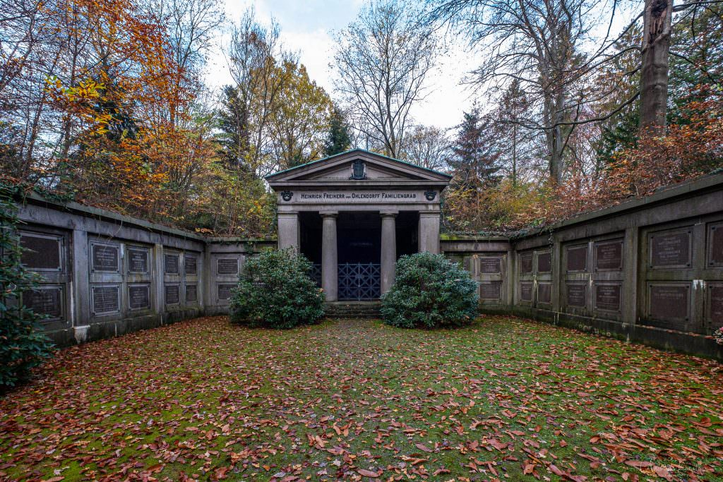 Heinrich Freiherr von Ohlendorff Familiengrab