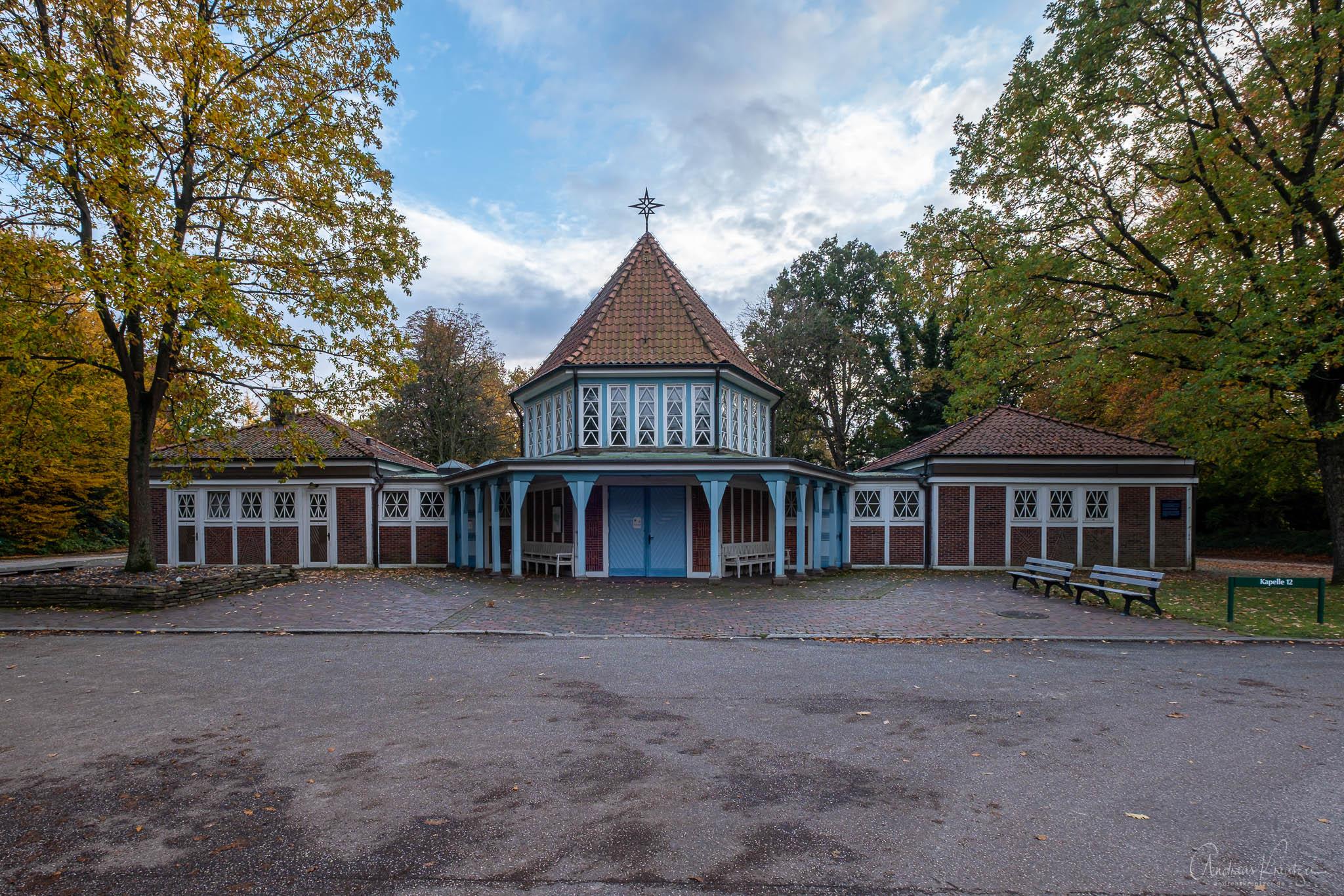 Kapelle 12 auf dem Ohlsdorfer Friedhof