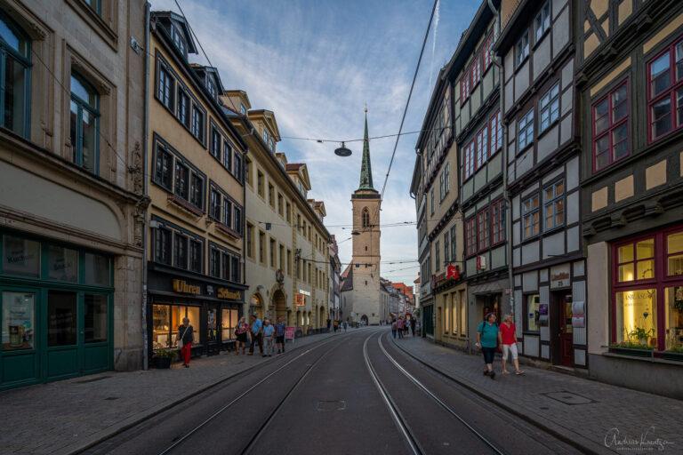 Marktstrasse in Erfurt