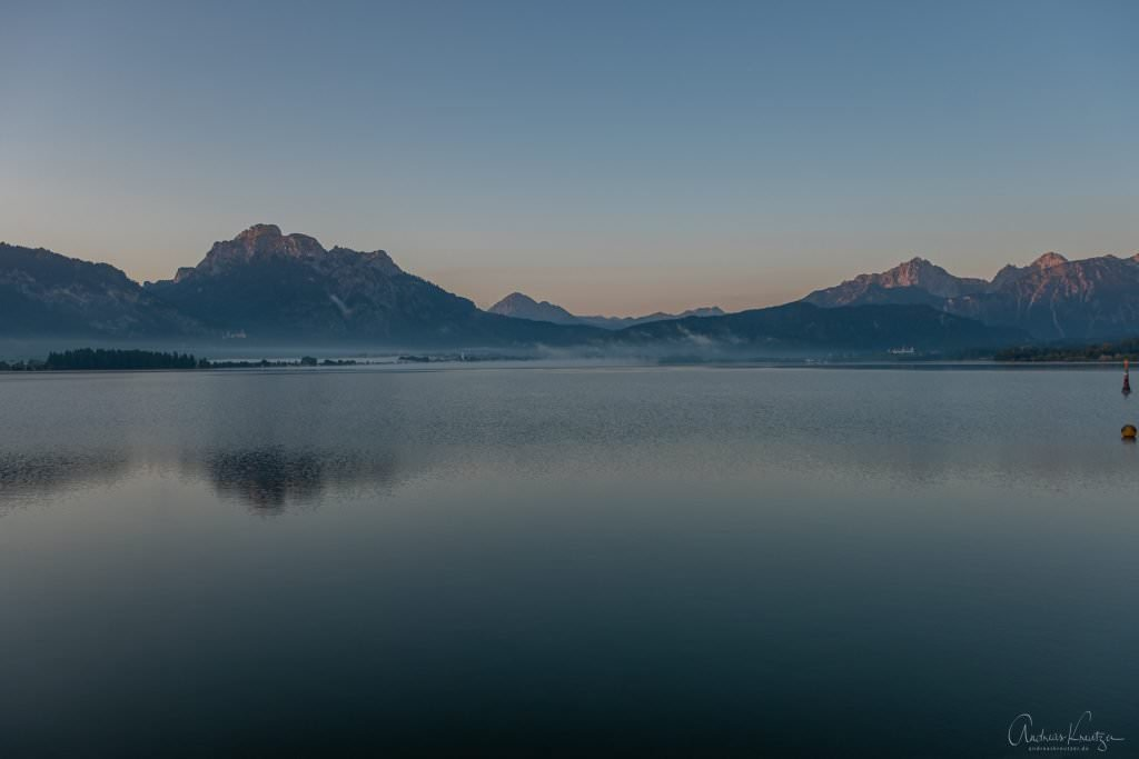 Forggensee am Morgen